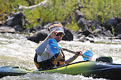 Alpine Quest Sports crashing Cable Rapid while kayaking the Upper Colorado River from Rancho to State Bridge, August 15, 2013, Morning Trip, AM, Bond, Colorado - WhiteWater-Pix | River Adventure Photography - by MADOGRAPHER Doug Mayhew