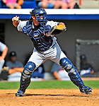 15 March 2009: Detroit Tigers' catcher Alex Avila in action during a Spring Training game against the Washington Nationals at Space Coast Stadium in Viera, Florida. The Tigers shut out the Nationals 3-0 in the Grapefruit League matchup. Mandatory Photo Credit: Ed Wolfstein Photo