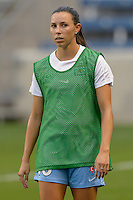 Chicago, IL - Wednesday Sept. 07, 2016: Vanessa DiBernardo prior to a regular season National Women's Soccer League (NWSL) match between the Chicago Red Stars and FC Kansas City at Toyota Park.