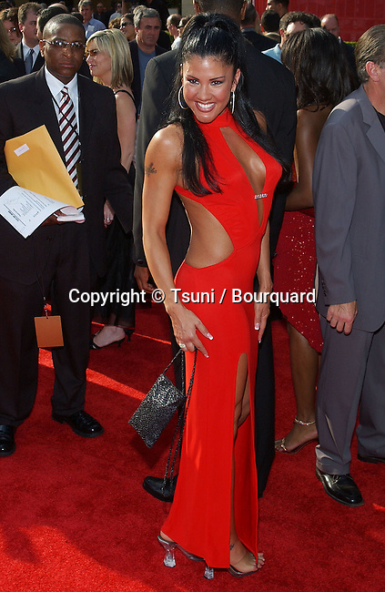Mia St John arriving at the ESPY Awards at the Kodak Theatre in Los Angeles. July 16, 2003.
