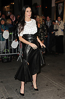 www.acepixs.com<br /> April 19, 2017 New York City<br /> <br /> Demi Moore was seen arriving to the Harper's Bazaar 150th Anniversary celebration at the Rainbow Room on April 19, 2017 in New York City.<br /> <br /> Credit: Kristin Callahan/ACE Pictures<br /> <br /> Tel: (646) 769 0430<br /> e-mail: info@acepixs.com