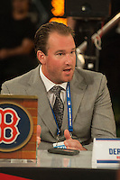 Former Boston RedSox pitcher Derek Lowe during the MLB Draft on Thursday June 05,2014 at Studio 42 in Secaucus, NJ.   (Tomasso DeRosa/ Four Seam Images)