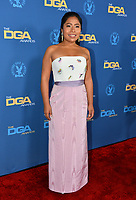 LOS ANGELES, CA. February 02, 2019: Yalitza Aparicio at the 71st Annual Directors Guild of America Awards at the Ray Dolby Ballroom.<br /> Picture: Paul Smith/Featureflash