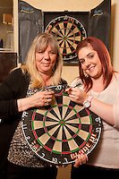 Pictured are Sharon Raynor (left) and her daughter Louise Raynor at the Double Top in Beeston