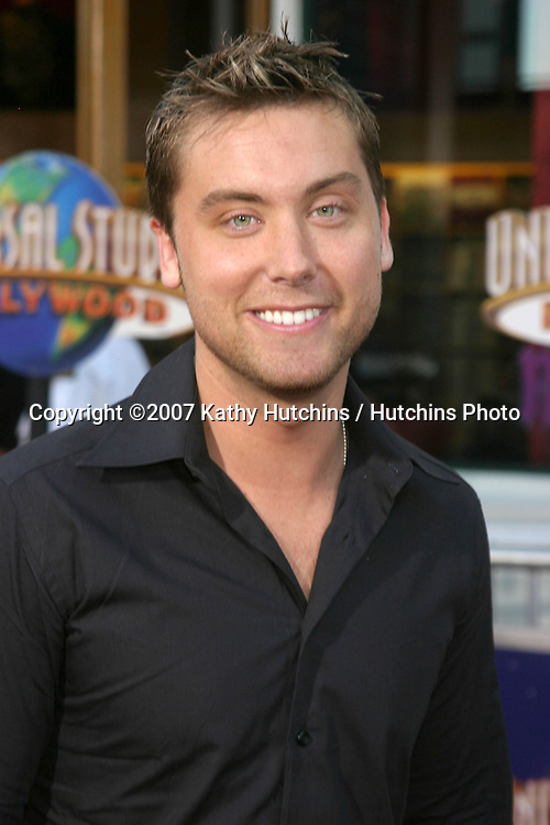 """Lance Bass.""""I Now Pronounce You Chuck & Larry"""" Premiere.Universal Citywalk.Los Angeles, CA.July 12, 2007.©2007 Kathy Hutchins / Hutchins Photo...."""