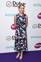 LONDON, UK. June 28, 2019: Chris Evert arriving for the WTA Summer Party 2019 at the Jumeirah Carlton Tower Hotel, London.<br /> Picture: Steve Vas/Featureflash
