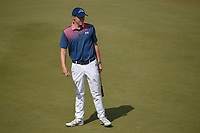 Matt Fitzpatrick (ENG) reacts to barely missing his birdie attempt on 11 during day 1 of the WGC Dell Match Play, at the Austin Country Club, Austin, Texas, USA. 3/27/2019.<br /> Picture: Golffile | Ken Murray<br /> <br /> <br /> All photo usage must carry mandatory copyright credit (© Golffile | Ken Murray)