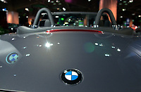 BMW convertible at the Luxury car show 2002<br />
