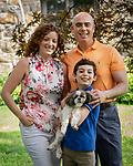 Cantor David Rosen, Ilyse Glickman and Family Portraits<br /> Kol Ami, White Plains New York