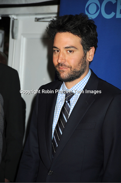 Josh Radnor  attends the CBS Prime Time 2013 Upfront on May 15, 2013 at Lincoln Center in New York City.