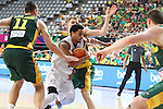 07.09.2014. Barcelona, Spain. 2014 FIBA Basketball World Cup, round of 16. Picture show C. Webster  in action during game between New Zealand   v  Lithuania at Palau St. Jordi