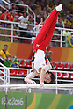 Ryohei Kato (JPN), <br /> AUGUST 6, 2016 - Artistic Gymnastics : <br /> Men's Qualification <br /> Parallel Bars <br /> at Rio Olympic Arena <br /> during the Rio 2016 Olympic Games in Rio de Janeiro, Brazil. <br /> (Photo by Sho Tamura/AFLO SPORT)