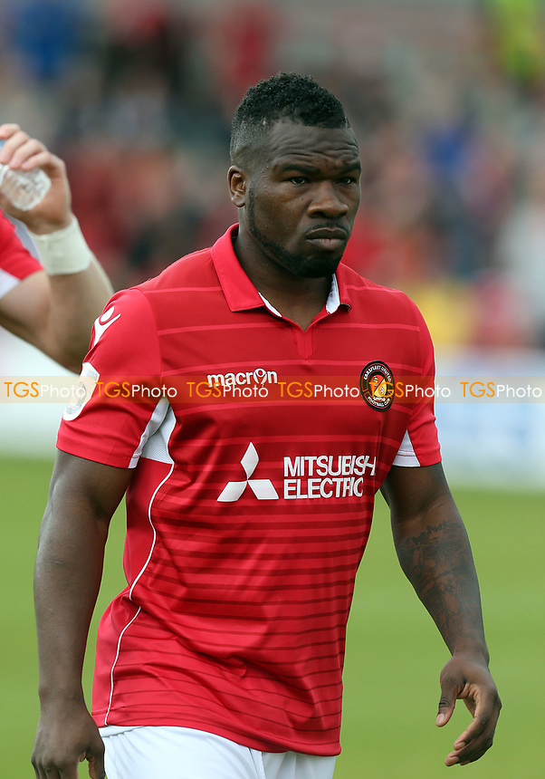 Aaron McLean of Ebbsfleet United during Ebbsfleet United vs Chelmsford City, Vanarama National League South Play-Off Final Football at The PHB Stadium on 13th May 2017