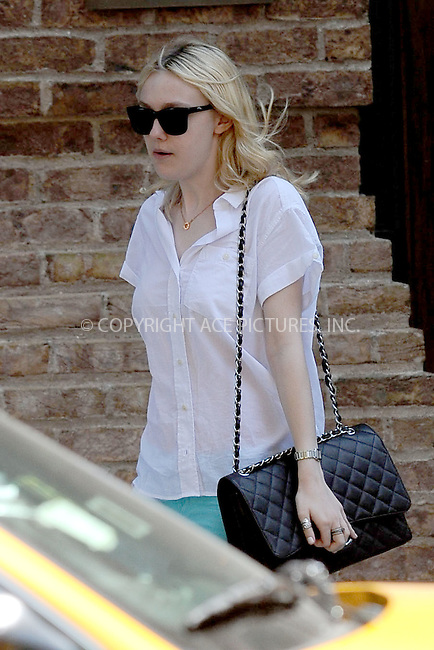 WWW.ACEPIXS.COM . . . . . .June 15, 2011...New York City....Dakota Fanning on June 15, 2011 in New York City....Please byline: KRISTIN CALLAHAN - ACEPIXS.COM.. . . . . . ..Ace Pictures, Inc: ..tel: (212) 243 8787 or (646) 769 0430..e-mail: info@acepixs.com..web: http://www.acepixs.com .