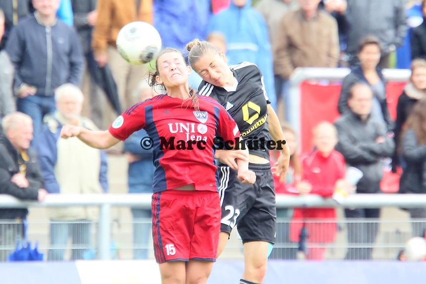 Vanessa Müller (JEna) gegen Bianca Schmidt (FFC) - 1. FFC Frankfurt vs. USV FF Jena