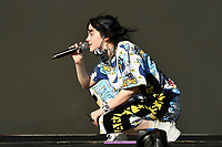 JUN 30 Billie Eilish performing at Glastonbury Festival 2019