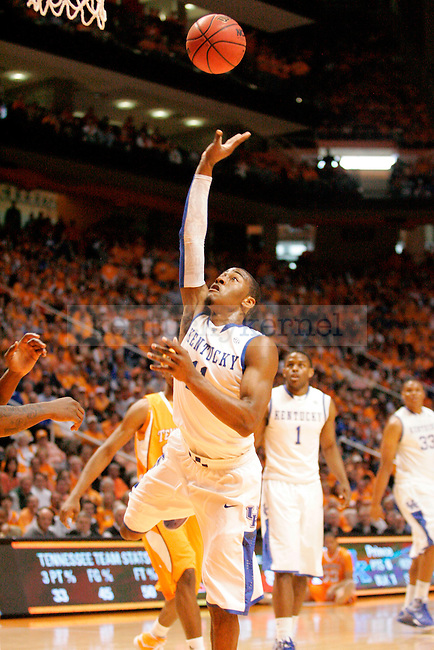 The Kentucky Wildcats face the Tennessee Volunteers during the first half of the game at  the Thompson-Bowling Arena on Saturday. Photo by Zach Brake   Staff.