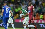 Atlético Nacional venció 2-1 a Deportes Tolima (2-2 en el global y 1-3 en penales). Cuartos de final vuelta Liga Águila II-2017.