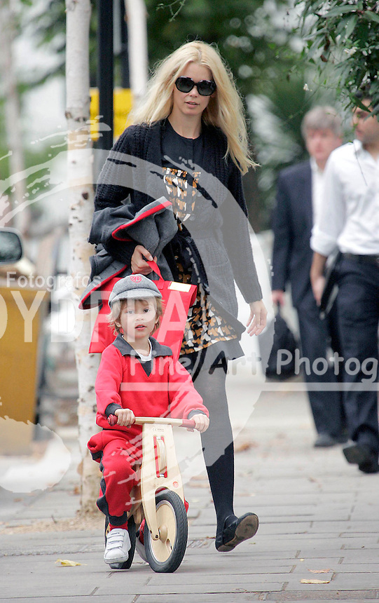 LONDON<br />************WORLD RIGHTS ONLY*******<br />PICTURES BY:  &copy;KATIE B/EAGLEPRESS<br />PLEASE CREDIT ALL USES<br />----------------------------------<br />CLAUDIA SCHIFFER IS CLEARLY HAVING A GREAT TIME WATCHING HER SON CASPER RIDE HIS LITTLE BICYCLE. THE MUM OF TWO MUST BE VERY BUSY AS SHE'S WEARING EXACTLY THE SAME OUTFIT AS A COUPLE OF DAYS AGO!<br /><br />----------------------------------<br />CONTACT: EAGLEPRESS UK LTD<br />photos@eaglephoto.co.uk<br />kate@eaglephoto.co.uk<br />MAIN: +4477865 14443 <br />SALES / SYNDICATION: +4478664 93740<br />1 TAVISTOCK MANSIONS<br />49 ST LUKES ROAD<br />LONDON W11 1DD<br />UK