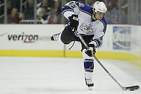 08 February 2006: Los Angeles Kings' Tim Gleason plays against the Columbus Blue Jackets at Nationwide Arena in Columbus, Ohio.<br />