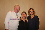 Wendy Madore with Guiding Light's Jerry verDorn and Liz Keifer as they host Bloss Brunch on October 8, 2017 - a part of the Guiding Light Daytime Stars and Strikes for Autism weekend at the Residence Inn, Secaucus, New Jersey. (Photo by Sue Coflin/Max Photo)
