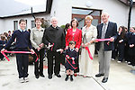 Nollaig Burke, Fr.Murtagh, Bríd O'Doherty, Maura Callaghan and Alec McClean along with the eldest and youngest children in the school, Arnold Chubukins and Mary Kate Trainer cut the ribbon at the Official Opening of the new extension at Callystown National School...Photo NEWSFILE/Jenny Matthews.(Photo credit should read Jenny Matthews/NEWSFILE)....This Picture has been sent you under the condtions enclosed by:.Newsfile Ltd..The Studio,.Millmount Abbey,.Drogheda,.Co Meath..Ireland..Tel: +353(0)41-9871240.Fax: +353(0)41-9871260.GSM: +353(0)86-2500958.email: pictures@newsfile.ie.www.newsfile.ie.FTP: 193.120.102.198.