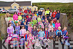 Up to 57 children and their parents took part in a Dolly & Teddy Walk in The Glen on Saturday from Martina Tarrant's Childcare Centre in a fundraising drive to raise money for the  playground in The Glen.