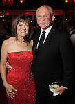 Ellie and Mike Francisco at the San Luis Salute to Mardi Gras in Galveston Friday Feb. 13,2015.(Dave Rossman Photo)