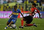 Con un gol de Viatri sobre el final, Boca venci&oacute; 2-1 a Estudiantes y gan&oacute; por primera vez en la Bombonera en el torneo Clausura.<br /> fotos Valentina Perez