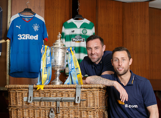 Rangers v Celtic Scottish Cup preview, Kris Boyd and Scott McDonald