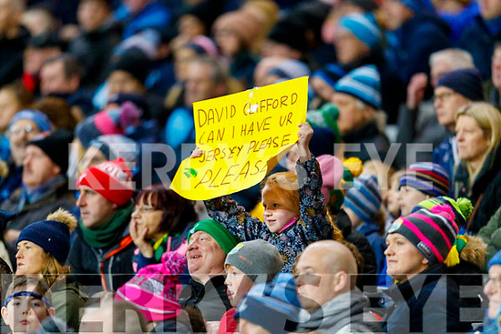 Spectators watch on during the Allianz Football League Division 1 Round 1 match between Dublin and Kerry at Croke Park on Saturday.