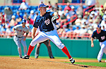 10 March 2009: Washington Nationals pitcher Jordan Zimmermann on the mound during a Spring Training game against the New York Mets at Space Coast Stadium in Viera, Florida. The Nationals and Mets tied 5-5 in the 10-inning Grapefruit League matchup. Mandatory Photo Credit: Ed Wolfstein Photo