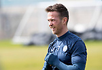 St Johnstone Training&hellip;04.05.18<br />Chris Millar pictured during training this morning at McDiarmid Park<br />Picture by Graeme Hart.<br />Copyright Perthshire Picture Agency<br />Tel: 01738 623350  Mobile: 07990 594431