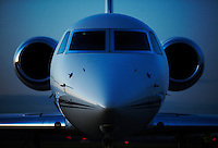 Gulfstream G550 corporate and business Jet aircraft.