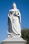 Queen Victoria statue Dovercourt, Harwich, Essex, England
