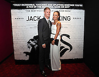Pictured: Footballer Alan Tate with his girlfriend. Friday 12 September 2014<br />