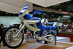 Yamaha Super Tenere on display during the first press day for the 41th Tokyo Motor Show, 21 October 2009 in Tokyo (Japan). The TMS will be open for the public from 23 October 2007 to 4 November 2009.
