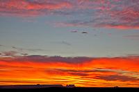 Sunrise in the Arizona desert