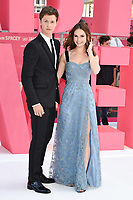 "Ansel Elgort and Lily James<br /> at the ""Baby Driver"" premiere, Cineworld Empire Leicester Square, London. <br /> <br /> <br /> ©Ash Knotek  D3285  21/06/2017"