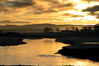 The River Clyde from Carstairs, South Lanarkshire<br /> <br /> Copyright www.scottishhorizons.co.uk/Keith Fergus 2011 All Rights Reserved