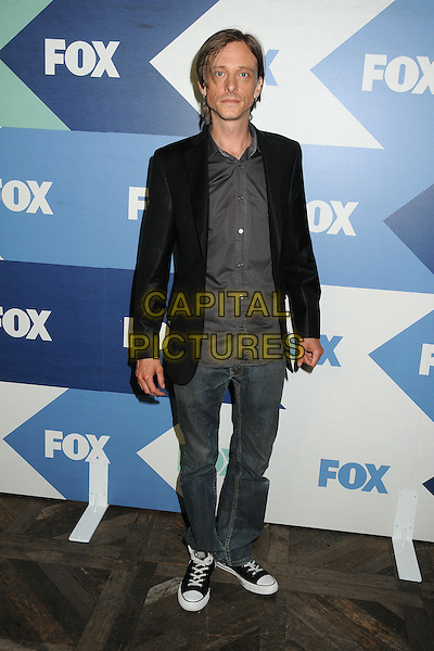 Mackenzie Crook<br /> Fox All-Star Summer 2013 TCA Party held at Soho House, West Hollywood, California, USA, 1st August 2013.<br /> full length black jacket blazer jeans trainers grey gray shirt <br /> CAP/ADM/BP<br /> &copy;Byron Purvis/AdMedia/Capital Pictures