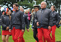 Blair Atholl, Scotland, UK. 8th September, 2015. Longines  FEI European Eventing Championships 2015, Blair Castle.Opening Ceremony © Julie Priestley