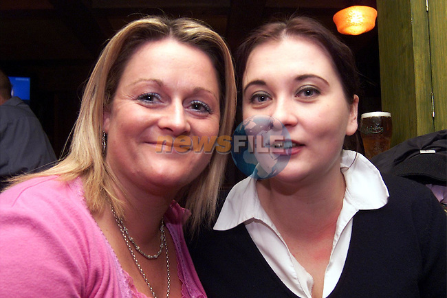 Geraldine Roche, Dunleer and Minna Kola pictured enjoyed a night in the Dunleer Inn..pic: Newsfile