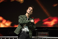 SAN JOSE, CA - DECEMBER 1: Daniel Seavey of Why Don't We performs onstage at The SAP Center during the 99.7 Now POPTOPIA in San Jose, California. <br /> CAP/MPI/IS/CT<br /> &copy;CT/IS/MPI/Capital Pictures