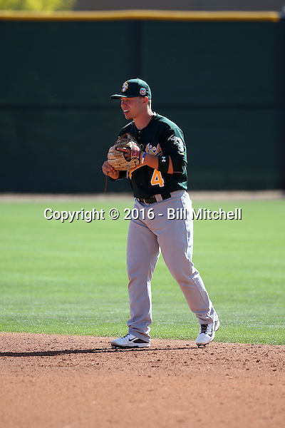 Tim Proudfoot - Oakland Athletics 2016 spring training (Bill Mitchell)