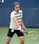 August 27,2019:   Richard Gasquet (FRA) loses to Matteo Berrettini (ITA) 6-4, 6-3, 2-6, 6-2, at the US Open being played at Billie Jean King National Tennis Center in Flushing, Queens, NY.  ©Jo Becktold/CSM