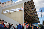 21.04.2018 Partick Thistle v Hamilton:  Fans at the new John Lambie Stand