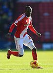 Albert Adomah of Middlesbrough - Middlesbrough vs. Leeds United - Skybet Championship - Riverside Stadium - Middlesbrough - 21/02/2015 Pic Philip Oldham/Sportimage