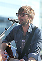 Dave Haywood of Lady Antebellum performs on the roof of the JetBlue building as part of the Live From T5 Concert Series, on Thursday, May 2, 2013 in Queens, New York. (Photo by www.soulb.photoshelter.com)