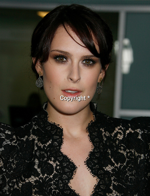 "HOLLYWOOD, CA. - September 03: Rumer Willis arrives at the Los Angeles premiere of ""Sorority Row"" at the ArcLight Hollywood theater on September 3, 2009 in Hollywood, California."